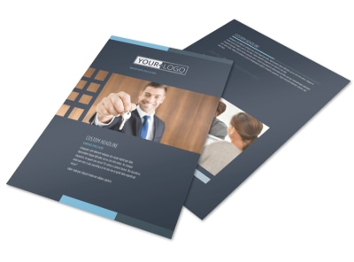 Your Next Real Estate Agent Flyer Template