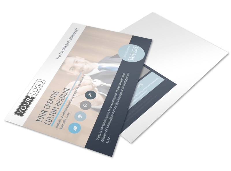 Your Next Real Estate Agent Postcard Template