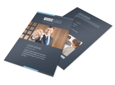 Your Next Real Estate Agent Flyer Template preview