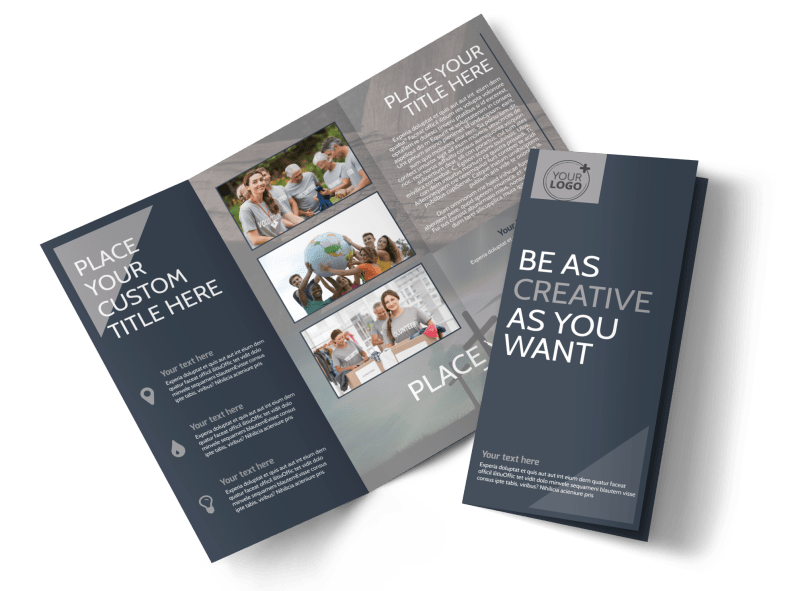 Church Outreach Program Brochure Template Preview 1