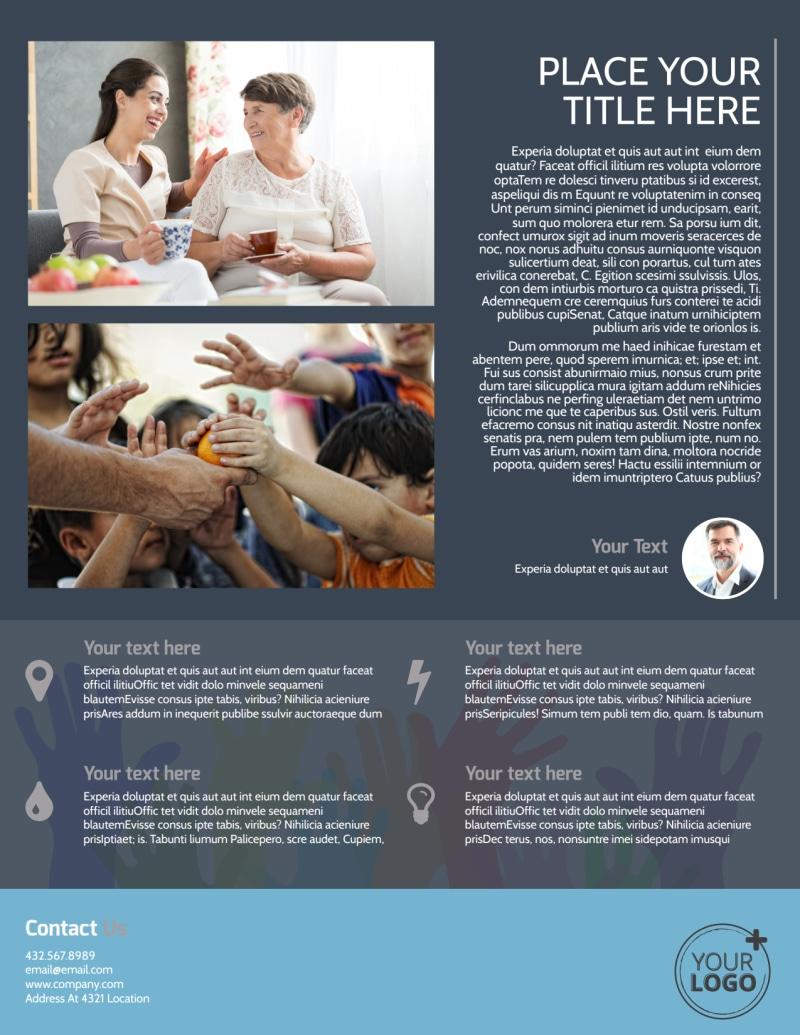 Church Outreach Program Flyer Template Preview 3