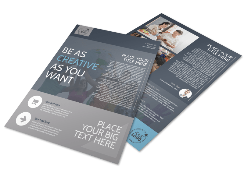 Church Outreach Program Flyer Template Preview 1