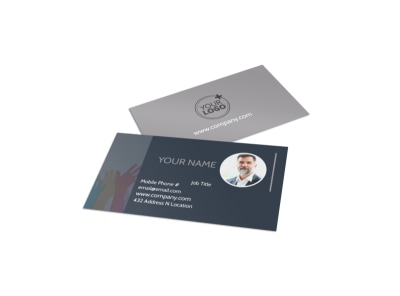 Church Outreach Program Business Card Template