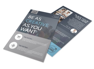 Church Outreach Program Flyer Template