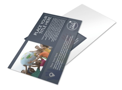 Church Outreach Program Postcard Template preview