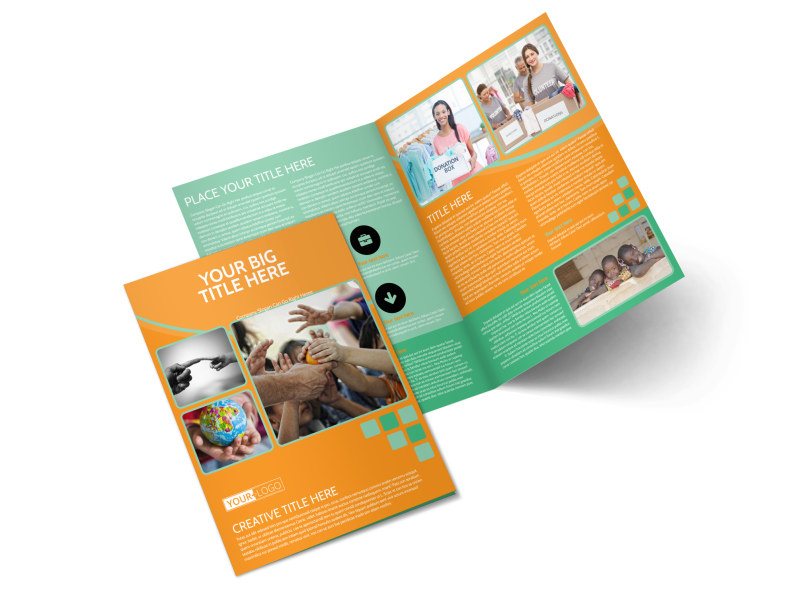 Charity Fundraiser Brochure Template Preview 4