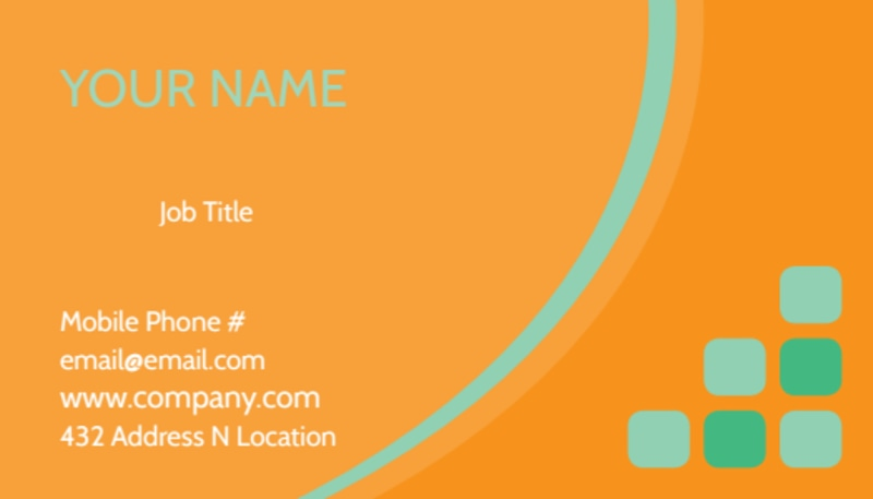 Charity Fundraiser Business Card Template Preview 2