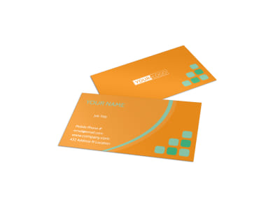 Charity Fundraiser Business Card Template preview