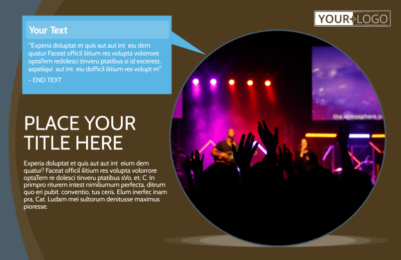 Christian Events & Conferences Postcard Template Preview 2