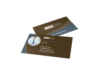 Christian Events & Conferences Business Card Template preview