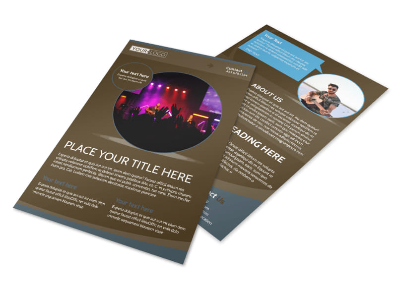 Christian Events & Conferences Flyer Template Preview 4