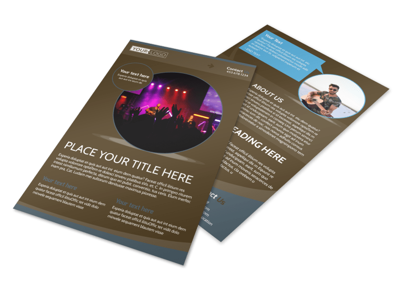 Christian Events & Conferences Flyer Template Preview 1