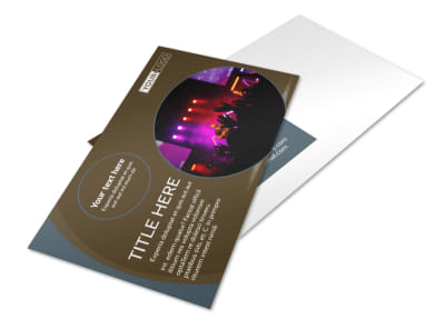 Christian Events & Conferences Postcard Template preview