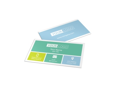 Spirit Led Bible Camp Business Card Template preview