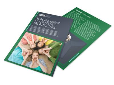 Church Fellowship Flyer Template preview