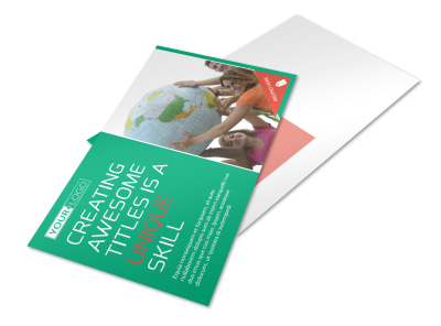 Fun Church Event Postcard Template preview