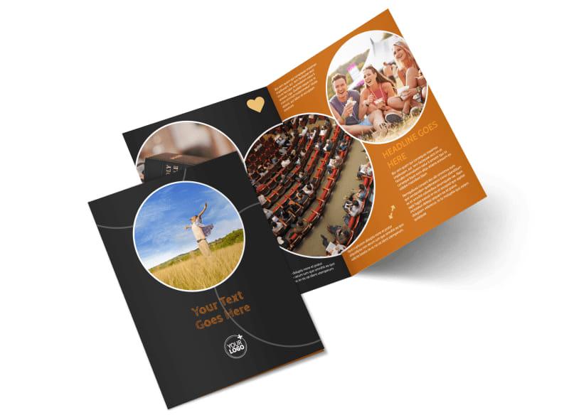 Christian Conference Center Bi-Fold Brochure Template