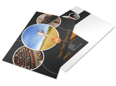 Christian Conference Center Postcard Template