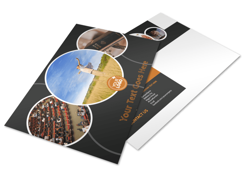 Christian Conference Center Postcard Template Preview 1