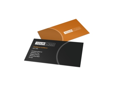 Christian Conference Center Business Card Template preview