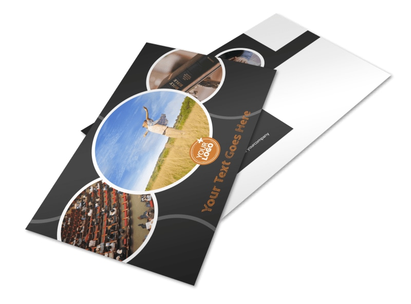 Christian Conference Center Postcard Template Preview 4