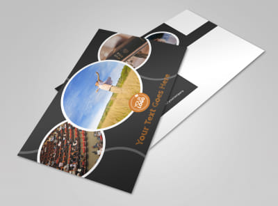 Christian Conference Center Postcard Template preview