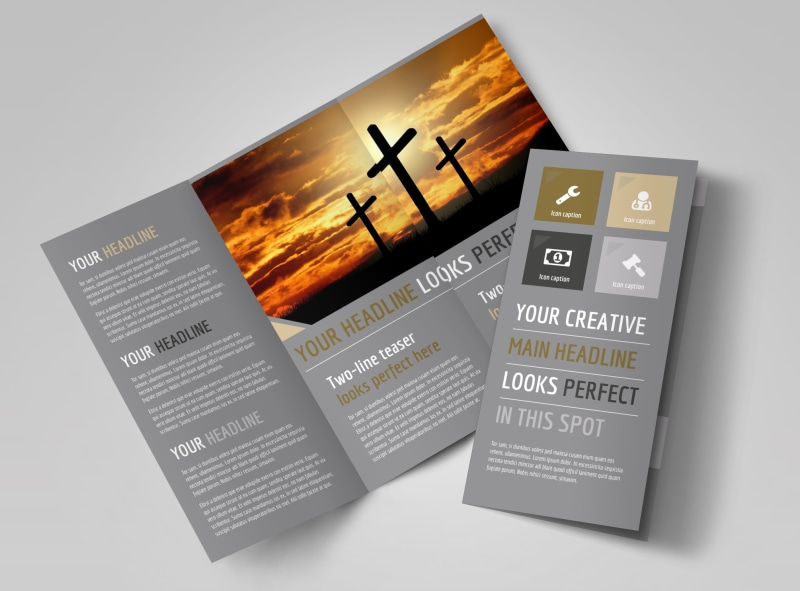 church informational brochure template mycreativeshop. Black Bedroom Furniture Sets. Home Design Ideas