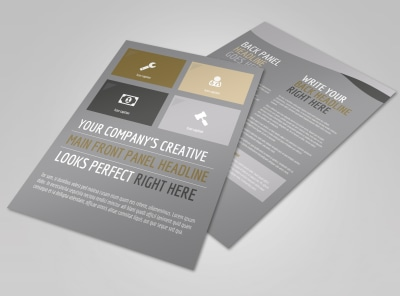Church Informational Flyer Template