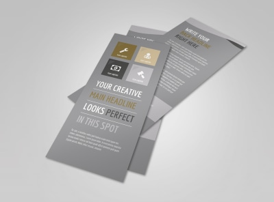 Church Informational Flyer Template preview