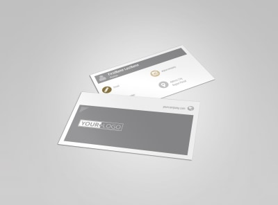 Church Informational Business Card Template