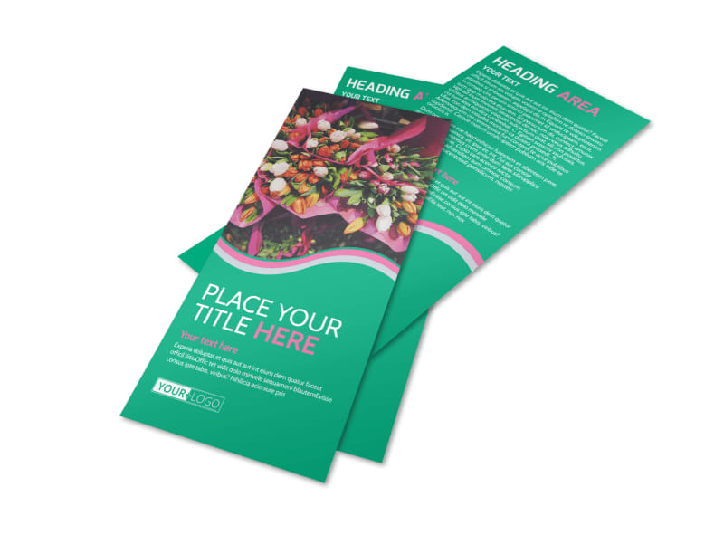 Floral Delivery Service Flyer Template Preview 4