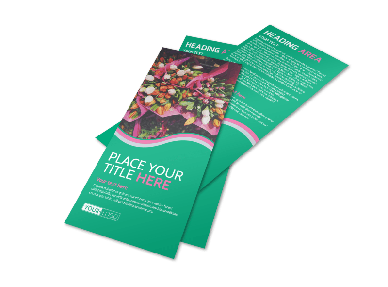 Floral Delivery Service Flyer Template Preview 1