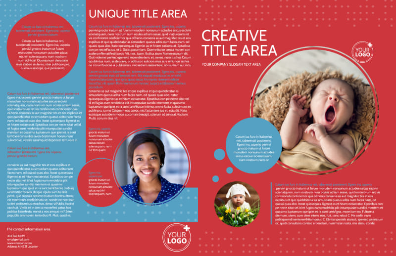 Baby Boutique Brochure Template Preview 2