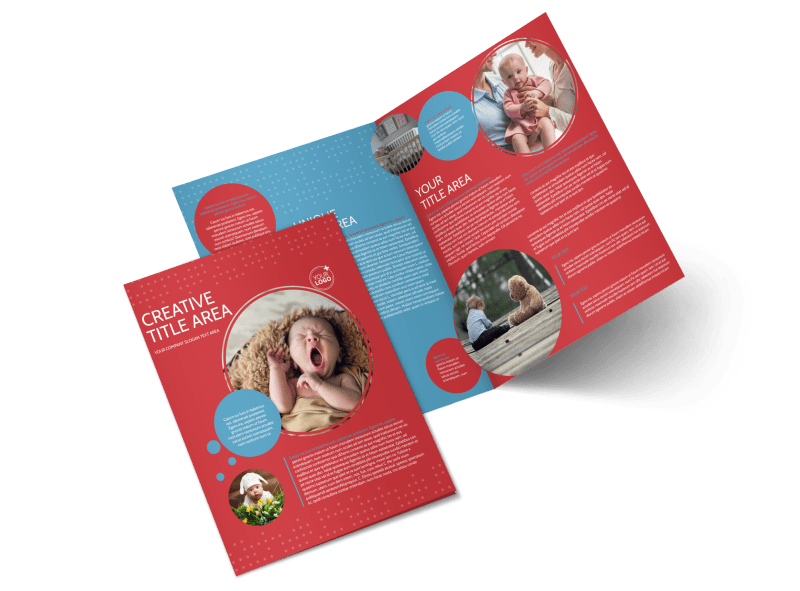 Baby Boutique Brochure Template Preview 1