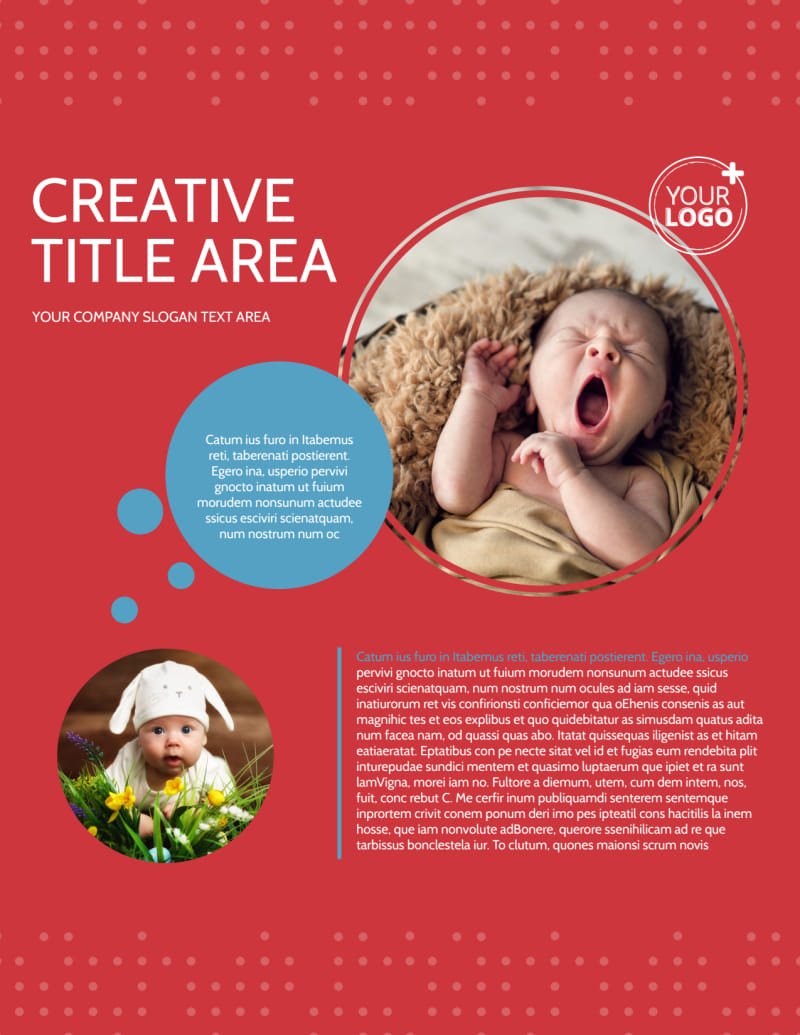 Baby Boutique Flyer Template Preview 2