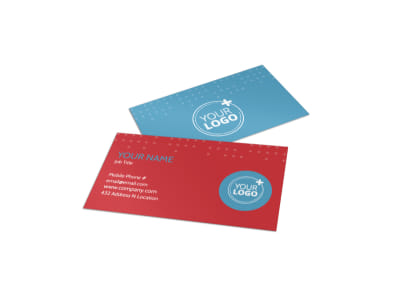Baby Boutique Business Card Template