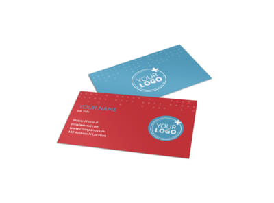 Baby Boutique Business Card Template preview