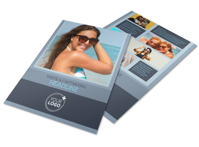 Sunglasses Store Flyer Template