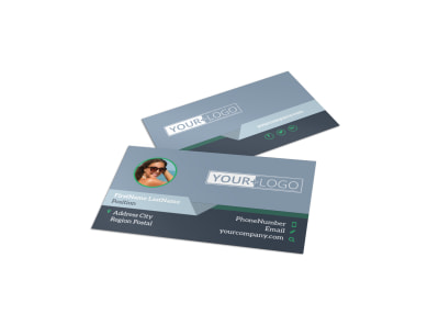 Sunglasses Store Business Card Template preview