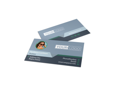 Sunglasses Store Business Card Template