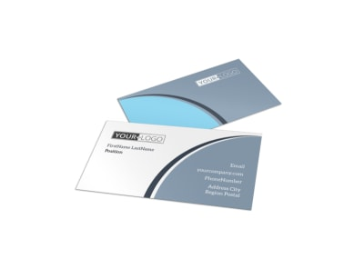 Popular Sunglasses Business Card Template preview