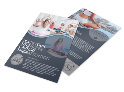 Yoga & Meditation Studio Flyer Template