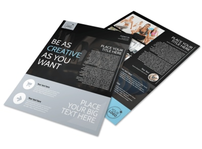 Local Gym Flyer Template