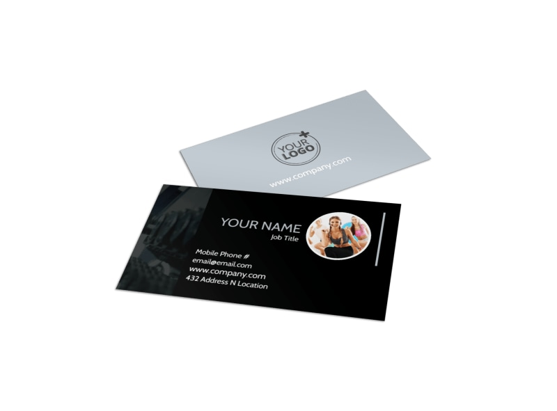 Local gym business card template mycreativeshop local gym business card template accmission Gallery