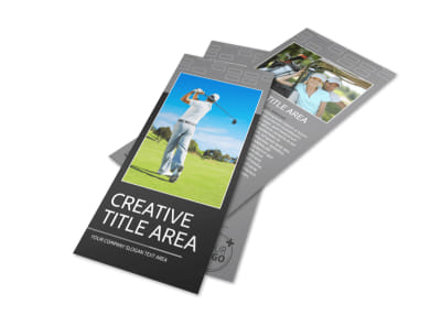 Golf Course Flyer Template preview