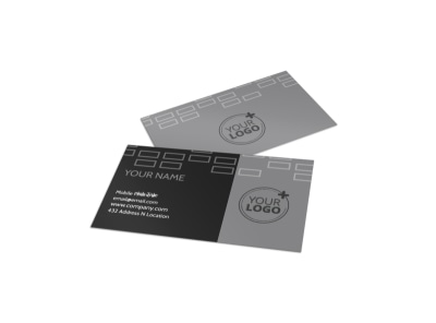 Golf Course Business Card Template preview