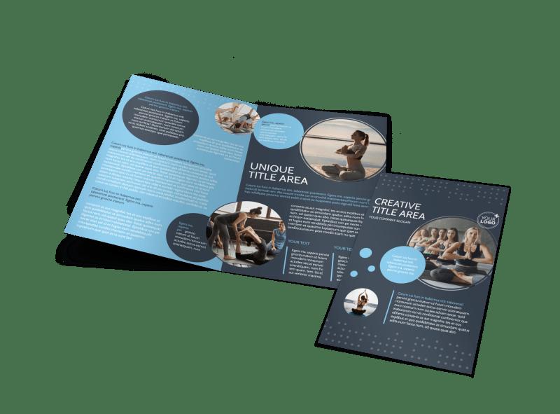 Yoga Center Brochure Template Preview 1
