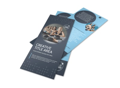 Yoga Center Flyer Template
