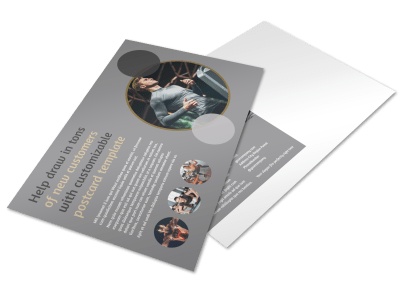 Club Postcard Templates Template Preview