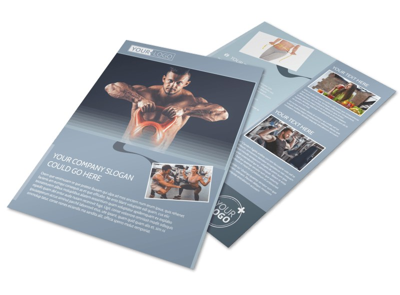 Body Transformation Program Flyer Template